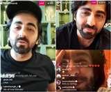 आयुष्मान खुराना से लाइव चैट कर रहे थे रणवीर सिंह, दीपिका पादुकोण गुस्सा हुईं तो बीच में ही किया लेफ्ट.... देखें वीडियो