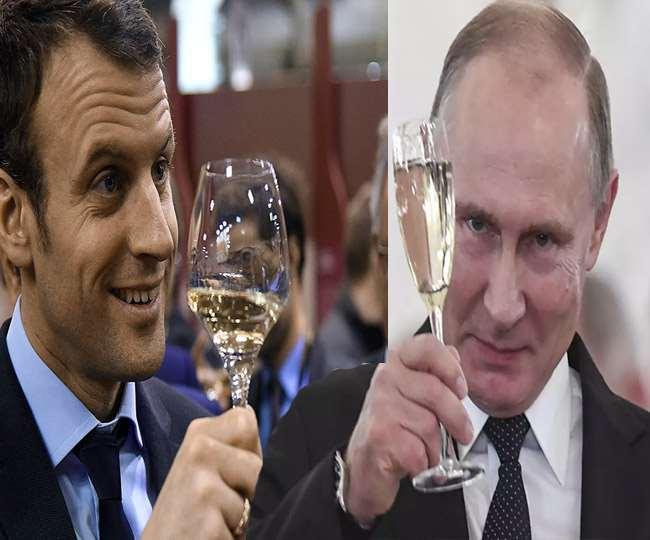 फ्रांस और रूस के बीच विवाद की जड़ बनी शैंपेन