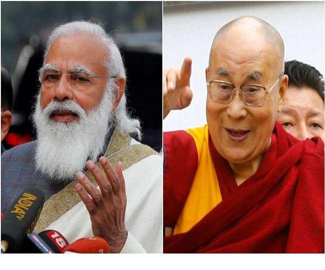 पीएम मोदी की ओर से दलाई लामा को जन्मदिन की बधाई देने पर खुश हुए तिब्बती