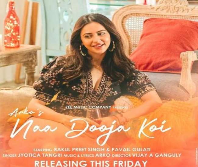 Rakul Preet singh shared poster of song 'Na Dooja Koi', song will released on this day.