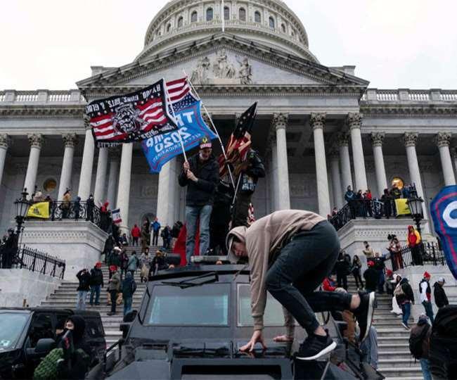 अमेरिकी संसद पर हमले के छह माह पूरे, हमलावरों की तलाश अधूरी