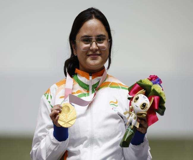 भारत की पहली पैरालंपिक डबल मेडलिस्ट अवनि लेखरा।