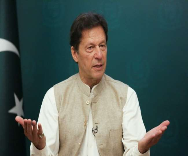 पाकिस्तान के प्रधानमंत्री इमरान खान । (फोटो- एएनआइ)