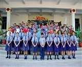 नौवीं और दसवीं के 20 विद्यार्थियों को रैपिड एक्शन फोर्स के रूप में नामांकित किया गया।