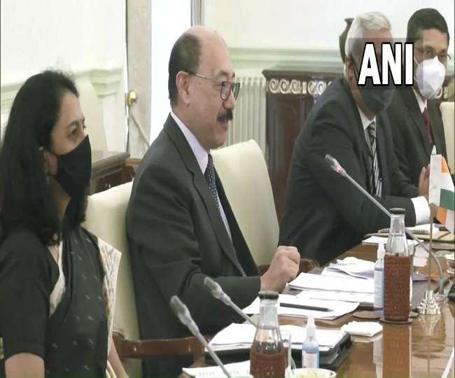 अमेरिका की उप विदेश मंत्री वेंडी शरमन ने हर्षवर्धन श्रृंगला से की द्विपक्षीय संबंधों पर मीटिंग