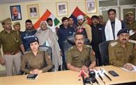 दो भाइयों के आठ हत्यारोपितों को पुलिस ने किया गिरफ्तार