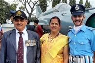 पिथौरागढ़ के सचिन बने वायु सेना में फ्लाइंग आफिसर
