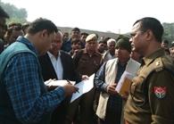 करंट से युवक की मौत, ग्रामीणों ने लगाया जाम