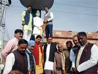 जयंत ने किया डॉ. आंबेडकर की प्रतिमा का नमन