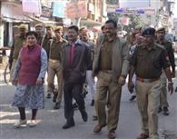 पुलिस ने जहानाबाद थाना में बैठाए दो संदिग्ध