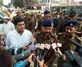 6 दिसंबर पर सुरक्षा को लेकर सड़कों पर उतरे अफसर, कड़ी सुरक्षा व्यवस्था Meerut News