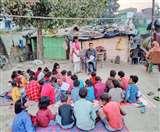 अर्जुन भेद रहे मलिन बस्ती की अशिक्षा, जगा रहे शिक्षा की अलख Muzaffarpur News