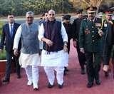 भारतीय सेना की पासिंग आउट परेड कल, रक्षामंत्री राजनाथ सिंह पहुंचे दून