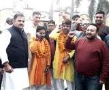29 महीने से फैजखान कर रहे पदयात्रा, कन्याकुमारी से कश्मीर तक गा रहे गाय की गाथा Panipat News