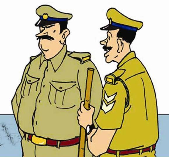 धार्मिक स्थलों पर पुलिस ने बढ़ाई सतर्कता