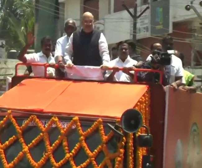Tamil Nadu Elections 2021: Amit Shah holds roadshow in Kanyakumari BJP  Election Campaign begins