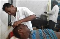 बालू के अवैध कारोबार को लेकर दो गुटों में खूनी संघर्ष