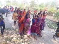 खरसावां के विभिन्न गांवों में हुई मां मंगला की पूजा