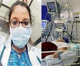 Coronavirus: 20 दिन से वार्ड में ही बीत रहे वासवदत्ता के दिन और रात, पढ़ें कोरोना वारियर्स की कहानी