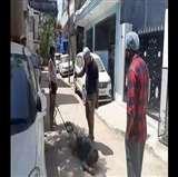 Video Viral : पुलिस के सहयोगियों ने दिव्यांग को रस्सी से बांधकर घसीटा, बाद में लाठियों से पीटा