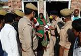मऊ में संदिग्ध हाल में युवक और महिला की हत्या, प्रेम-प्रसंग में दोनों की मौत पर बढ़ा संशय