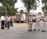 घर से निकला युवक, पुलिस ने पकड़ा, 11 हजार का चालान, बाइक भी इंपाउंड