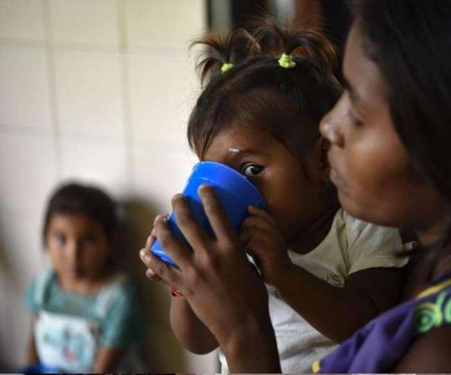 कांगो में 2.7 करोड़ से अधिक लोग भीषण भुखमरी से जूझ रहे हैं।