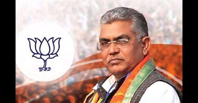 बंगाल भाजपा अध्यक्ष दिलीप घोष के खिलाफ एक तृणमूल नेता ने थाने में एफआइआर दर्ज कराया है।