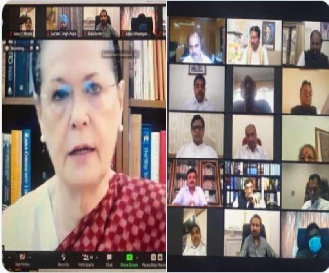बढ़ते कोरोना संक्रमण को लेकर विपक्ष भी चिंतित, सोनिया गांधी पार्टी सांसदों के साथ कर रही बातचीत