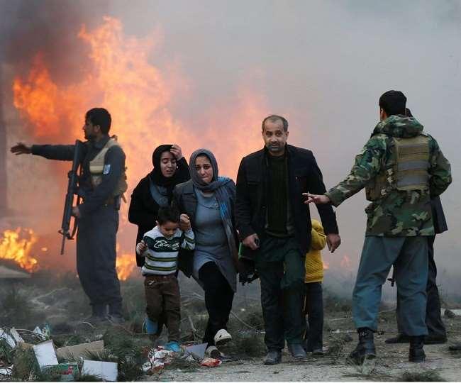 पीठले साल अलग-अलग हमलों में कुल हताहतों में से 330 महिलाएं और 565 बच्चे मारे गए थे।