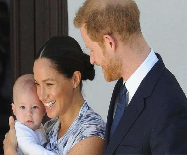 प्रिंस हैरी और मेगन की बेटी लिली शाही परिवार में ग्यारहवीं परपोती होंगी।