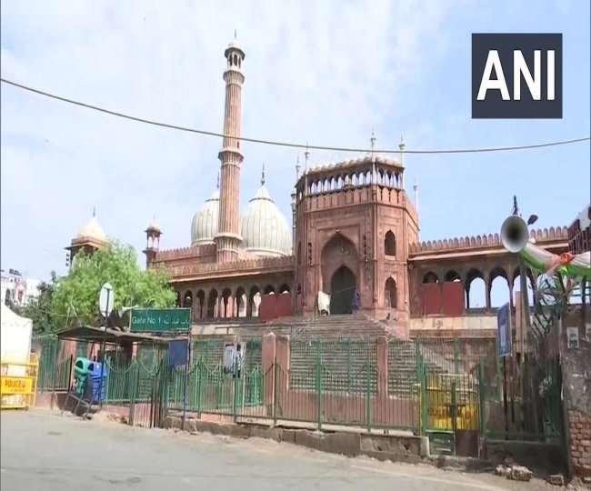 दिल्ली की ऐतिहासिक जामा मस्जिद की फाइल फोटो