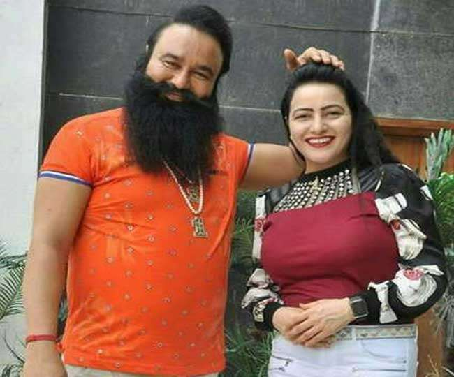 Gurmeet Ram Rahim News: गुरमीत राम रहीम से मिलने गुरुग्राम पहुंची हनीप्रीत !