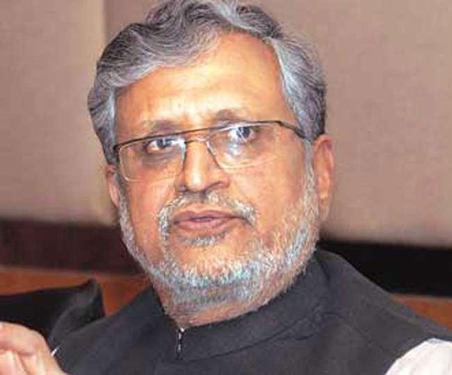 बीजेपी के राज्यसभा सांसद सुशील कुमार मोदी। फाइल तस्वीर।
