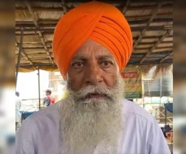 भारतीय किसान यूनियन के प्रदेशाध्यक्ष गुरनाम सिंह चढ़ूनी।