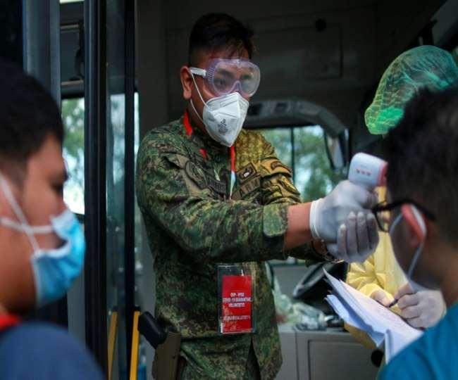 फिलीपींस में बढ़ने लगे कोरोना संक्रमण के मामले, मिले 18 हजार से अधिक नए मरीज