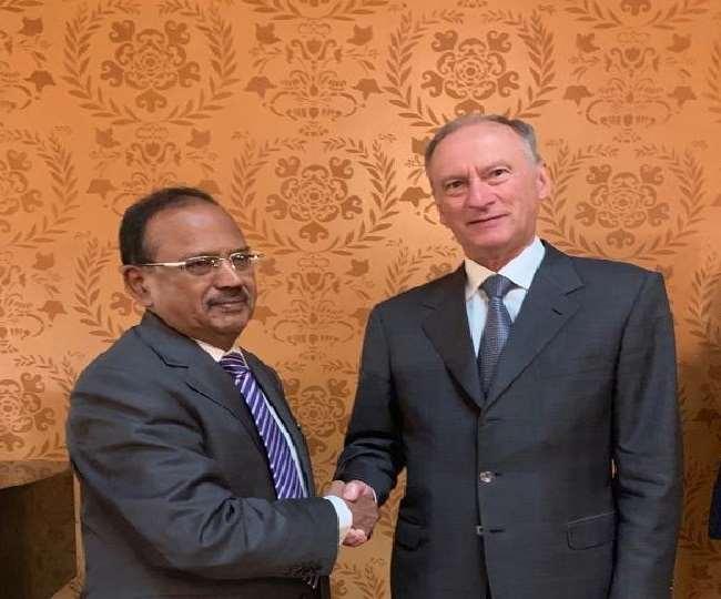 अफगानिस्तान संकट के बीच कल दिल्ली में मिलेंगे अजीत डोभाल और रूस के NSA