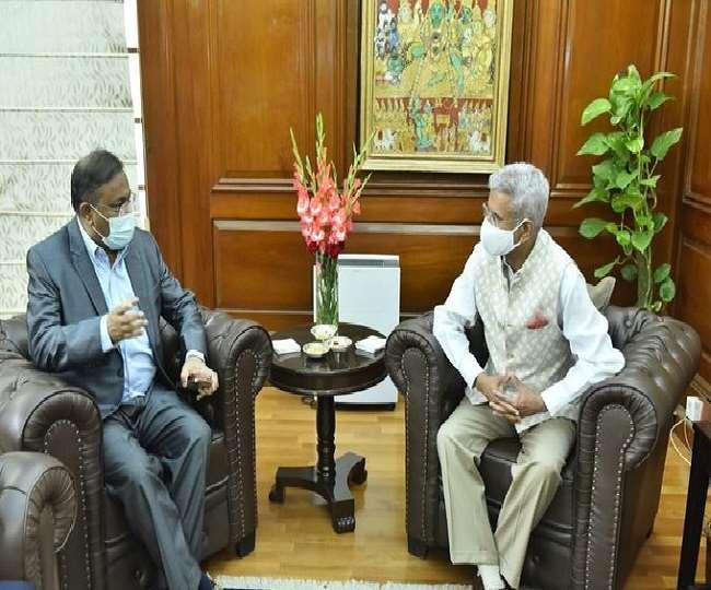 भारत के दौरे पर हैं बांग्लादेश के मंत्री डा हसन महमूद, आज जयशंकर संग मुलाकात में द्विपक्षीय मुद्दों पर वार्ता