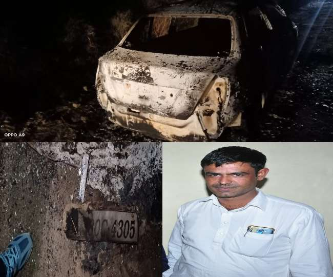 Businessman did fone called home and said Save me robbers are burning me  alive in car