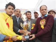 मूसानगर ने ट्राफी पर कब्जा जमाया
