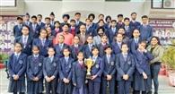 एथलीट मीट में जेपीएस अकादमी के बच्चों ने जीता गोल्ड