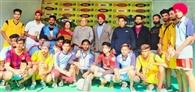 फुटबॉल में होशियारपुर और वॉलीबाल में तलवाड़ा विजयी