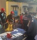 बानना में शिविर लगाकर मरीजों की जांच