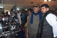 नंदिनीनगर में शुरू हुई आश्रम फिल्म की शूटिग