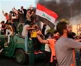 बगदाद में अज्ञात हमलावरों की प्रदर्शनकारियों पर अंधाधुंध गोलीबारी, 16 की मौत, 47 घायल