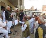 डिप्टी स्पीकर रणबीर गंगवा ने ग्रामीणों की समस्याएं सुनकर अधिकारियों को दिए समाधान के निर्देश