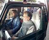 दो दिवसीय दौरे पर वाल्मीकिनगर पहुंचे उपमुख्यमंत्री सुशील मोदी, लिया जंगल सफारी का आनंद