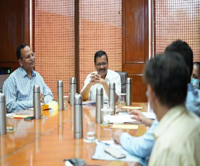 सीएम अरविंद केजरीवाल ने 'जहां झुग्गी, वहीं मकान' योजना की समीक्षा की