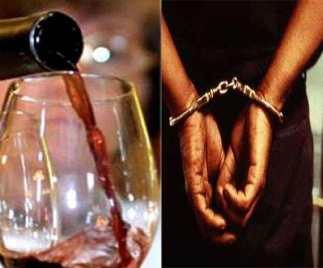 बिहार में अवैध शराब के धंधेबाजों पर लगाम कसेगी पुलिस। प्रतीकात्मक तस्वीर।