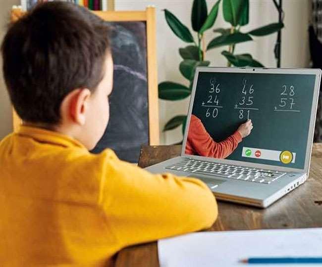 Online Education Benefits, Jharkhand Samachar कोरोना काल में छात्रों के बीच डिजिटल विभाजन हो गया है।